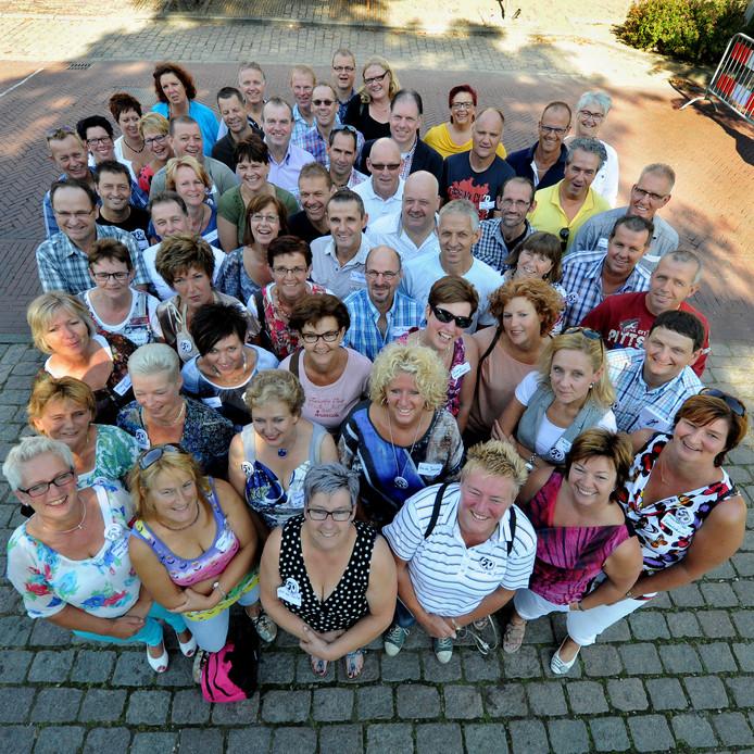 In Wouw wordt er al jaren een dag voor vijftigers gehouden. Hier de deelnemers van de editie 2012.