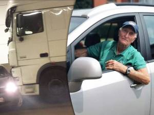 """Rik, 88 ans, est le héros du crash surréaliste à Anvers: """"Peut-on arrêter de critiquer les conducteurs âgés?"""""""