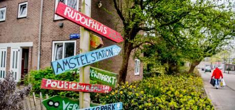 Linkse activisten verdrijven extreemrechts in Amsterdam