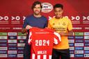 Als technisch manager regelt John de Jong nu de contracten van de spelers van PSV, zoals Donyell Malen.