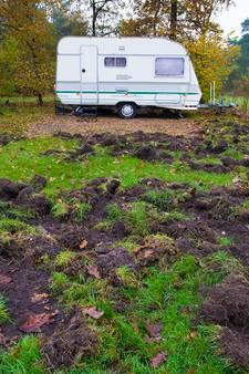 Gerichte jacht moet zwijnenterreur camping 't Schinkel stoppen