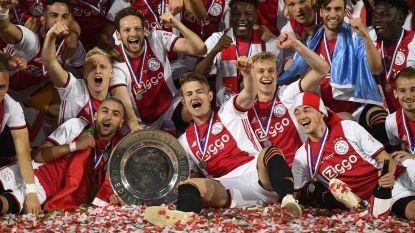 Ajax pakt 34ste landstitel