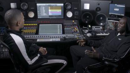 Romelu Lukaku maakt een nummer met de Antwerpse rapper TheColorGrey