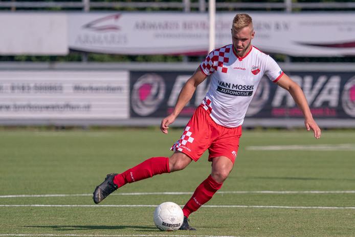 24-08-2019: Voetbal: Kozakken Boys v TEC: Werkendam Sven van Ingen of Kozakken Boys