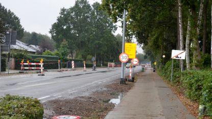 Aannemer start drie maanden vroeger met werken aan fietspad langs Bredabaan