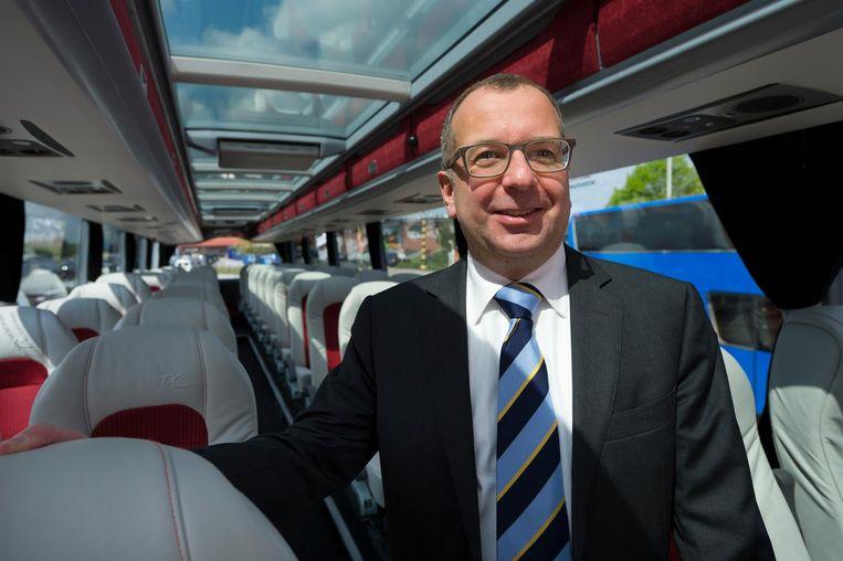 """CEO Filip Van Hool (hier op een archieffoto): """"Door deze bestelling bevestigen we onze positie van leidinggevend waterstofbussenproducent op de Europese markt."""""""