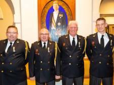 Onderscheidingen voor vier Bossche brandweerlieden