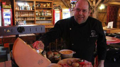 Stukje Oostenrijk in Aalter: raclette smullen in onvervalste après-skihut