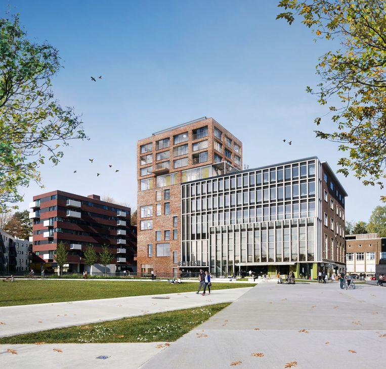 De Hoorn zal in 2020 over dubbel zoveel kantoorruimte beschikken dankzij de uitbreiding.