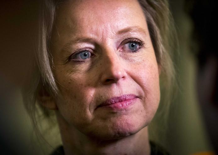 Kajsa Ollongren, minister van Binnenlandse Zaken, na afloop van de wekelijkse ministerraad.