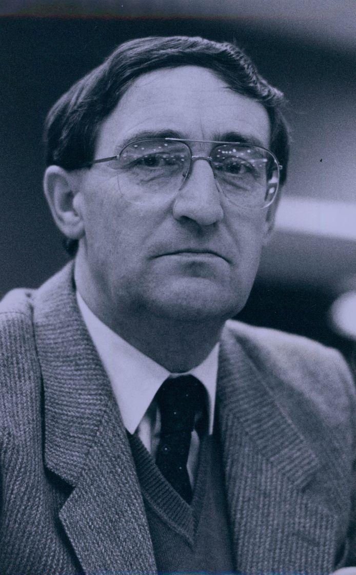 Herman Vleersbos, als raadslid in 1988.