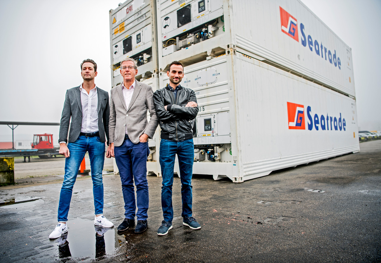 Partner Marc Reijm, oprichter Otto de Groot (m) en mede-eigenaar en -oprichter Otflow Ronald Hagenstein (r).