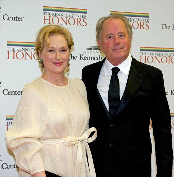 Meryl Streep en haar echtgenoot Don.