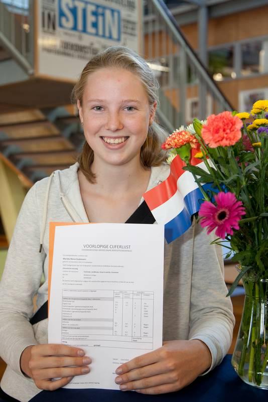 Mariska Oudshoorn, 16 jaar, Minkema College Stein, MAVO