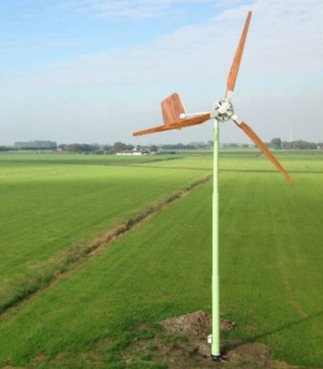 Opnieuw discussie over 'mini-windmolens' in de polder