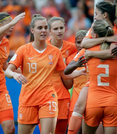 Vrouwenvoetbal kijken kan, maar er is nog niet veel Oranjekoorts in het centrum van Nijmegen