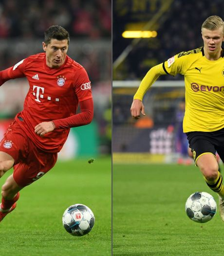 De clash in een clash: superster Lewandowski vs. tienersensatie Haaland