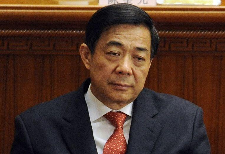 Bo Xilai in 2012. Beeld null