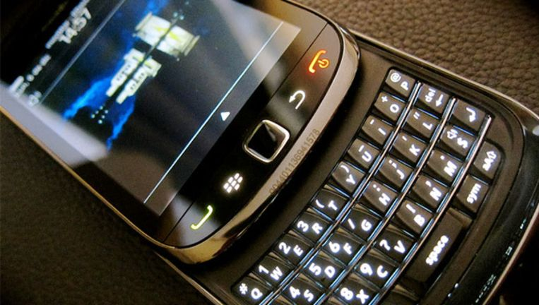 De BlackBerry Torch