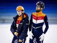 Schulting en Knegt verwerken verdriet op het ijs: 'Ik word overal aan Lara herinnerd'