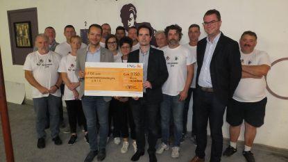 PC Leiehoek verzamelt 9.750 euro met wereldrecord