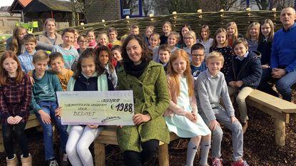 Gemeentschool schenkt 1.988 euro aan Bednet