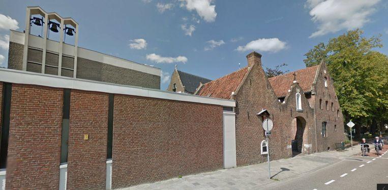 De voormalige Paterskerk in Weert is nu een evenementencentrum. Beeld Google Maps