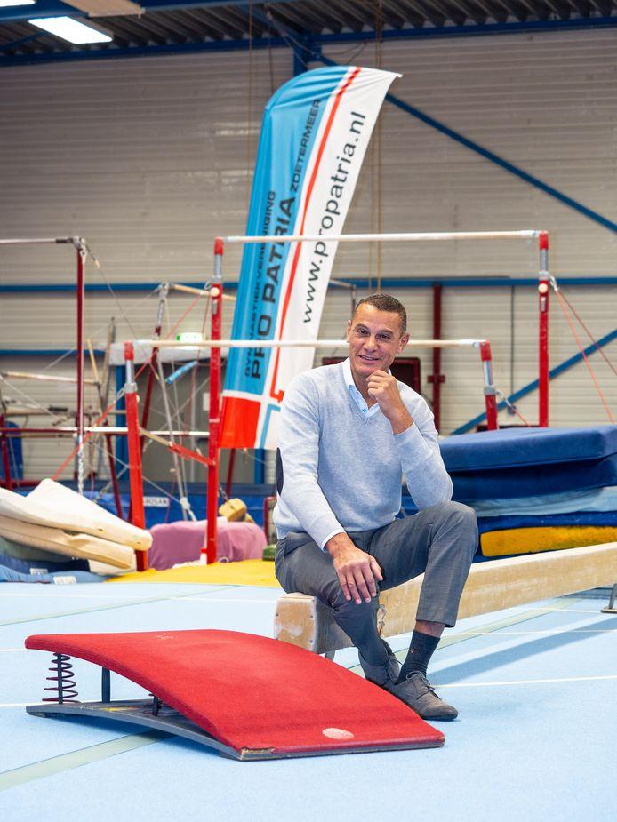 Jerry van der Ziel , nu oud-voorzitter van Pro Patria.