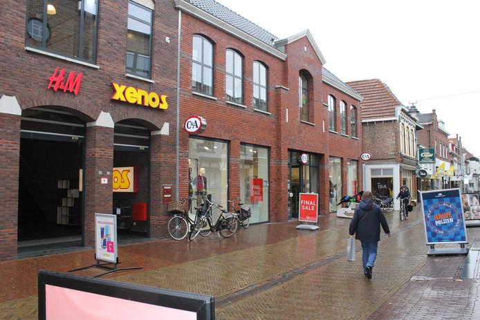 De C&A in de Wooldstraat in Winterswijk.