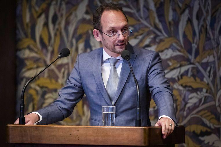 GroenLinks-Eerste Kamerlid Ruard Ganzevoorrt. Beeld ANP/Bart Maat