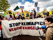 Duizenden betogers liepen klimaatmars