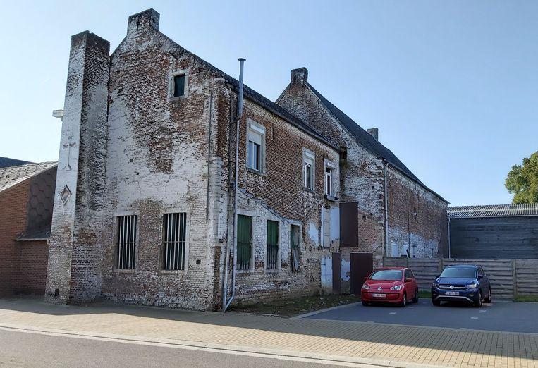 De historische brouwerij voor de afbraak