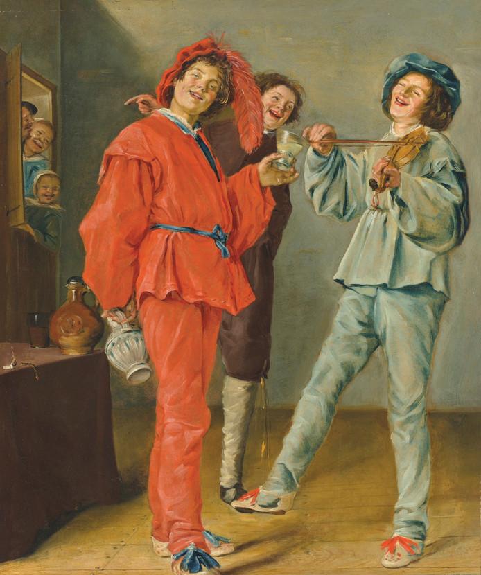 Het schilderij Vrolijk Gezelschap van Judith Leyster, de eerste vrouwelijke meester in de Gouden Eeuw.