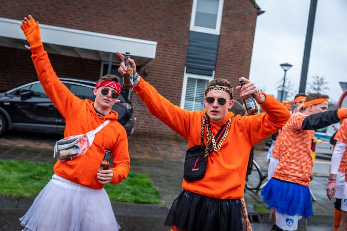 Met deze stimuleringsdrank worden de Oranje-prestaties er niet beter op, optocht Brouwhuis