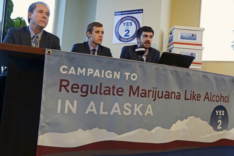 Bij de verkiezingen in november mochten de inwoners van Alaska stemmen over de legalisering.