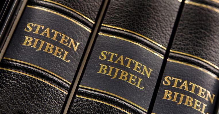 De Staten Bijbel. Beeld anp