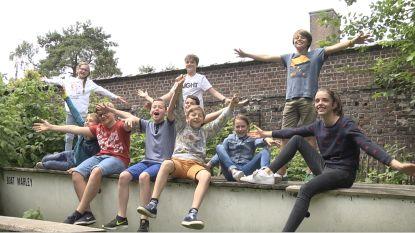 Tien kinderen maken eigen film 'Uitblinkers'