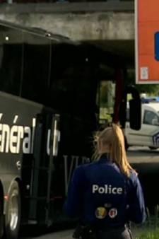 Un car transportant des retraités s'encastre dans un pont à Marcinelle: pas de blessé