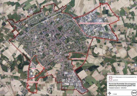 De afbakening van het kleinstedelijk gebied Tielt is een feit