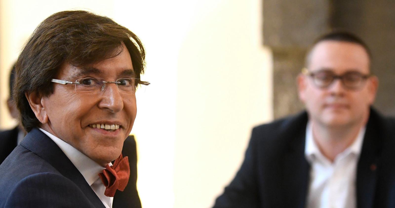 Elio Di Rupo, président du PS.