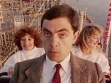 Mr Bean gaat ter ontspanning in de achtbaan