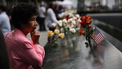 New Yorkers brengen hulde aan slachtoffers 9/11