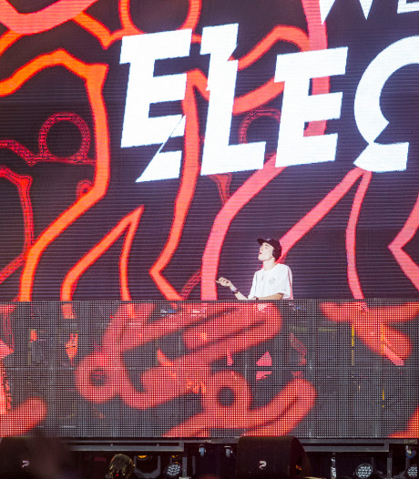Geen Eric Prydz op We Are Electric