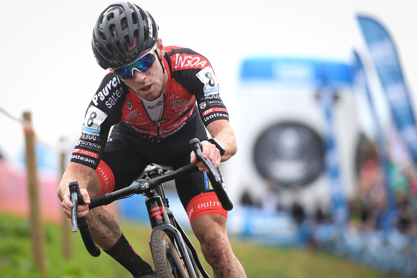 Eli Iserbyt in actie tijdens de Polderscross van vorig jaar.