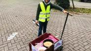 Louis (10) bakt pannenkoeken voor het goede doel