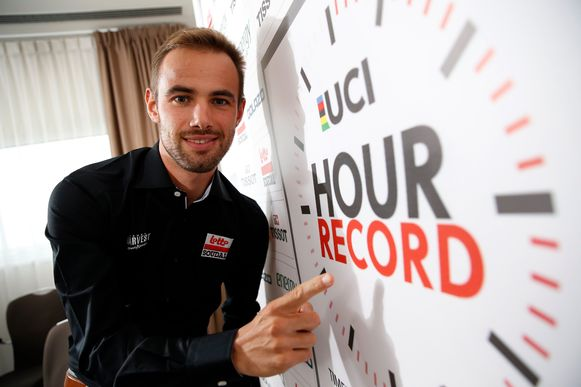 Minstens 54,527 km moet Campenaerts in Mexico afleggen om Wiggins' werelduurrecord te breken.