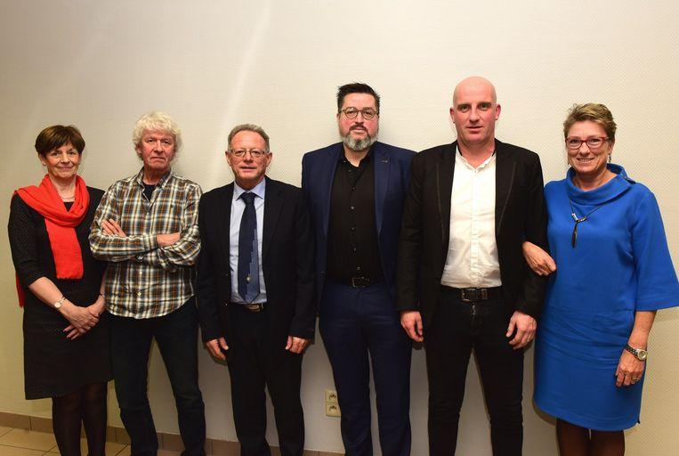 Gerda, Etienne, Rudy, Filip, Kristof en Veronique zijn de nieuwe gezichten voor de N-VA in de gemeenteraad