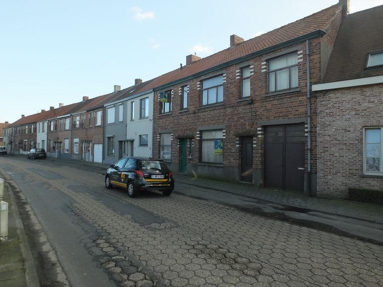 Deinze: de Krekelstraat.