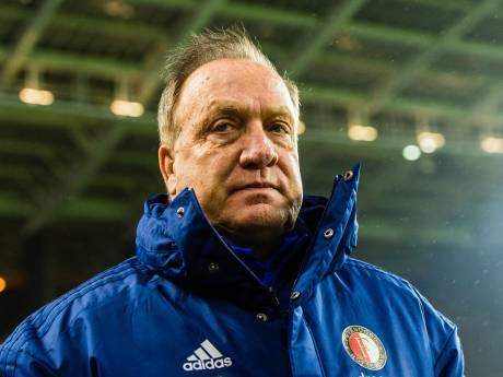 Advocaat geeft Feyenoord compliment na nederlaag: 'Positief hoe we gespeeld hebben'