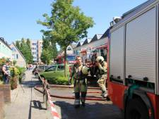Veenendaalse gewond naar ziekenhuis na brand in keuken